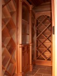 Highlight for Album: Custom Cedar Wine Cellar